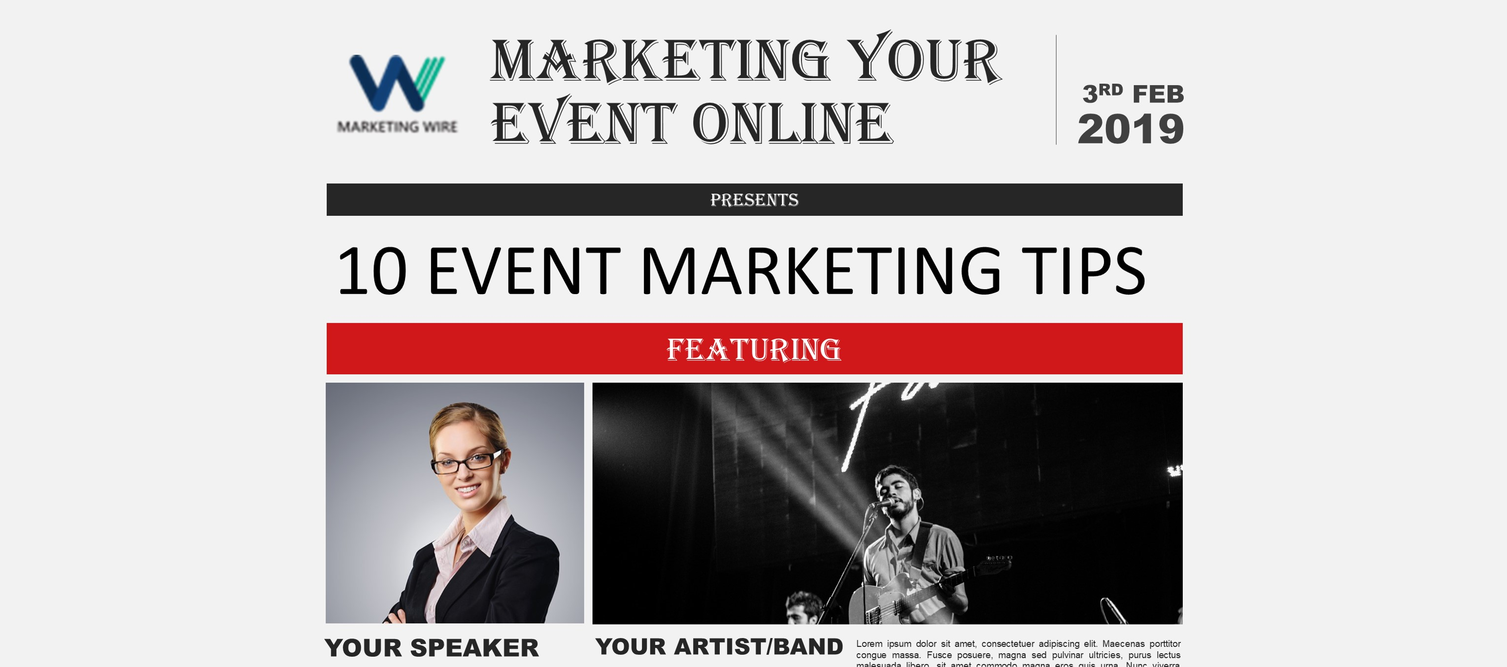 How to Market an Event Online 10 Event Marketing Tips in northeast india