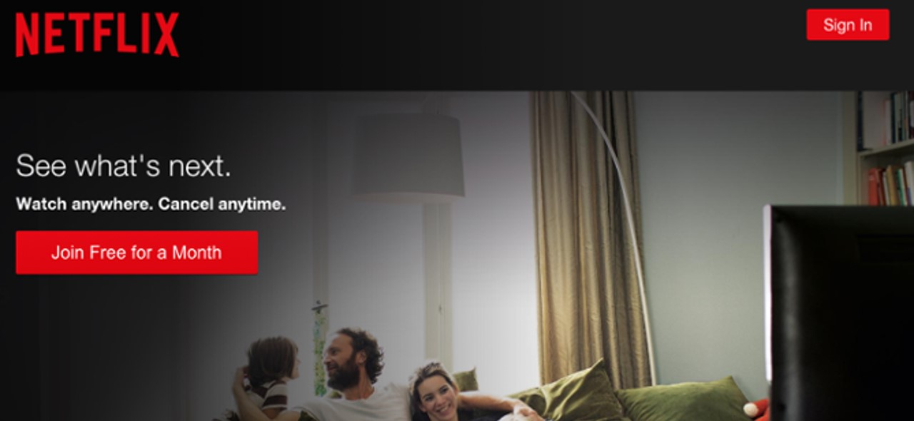 How to make effective landing pages that actually converts a compelling cta sample from netflix